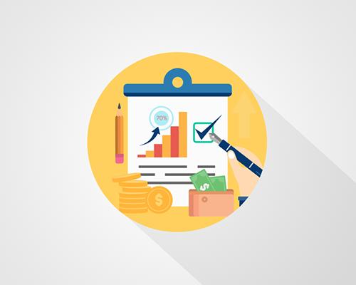 عمل التقارير الوافية و المحافظة على سرية البيانات من خلال برامج المحاسبة